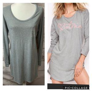VS Embellished Long Sleeve Sleep Shirt
